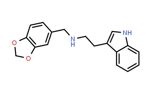 N-(1,3-Benzodioxol-5-ylmethyl)-2-(1H-indol-3-yl)ethanamine