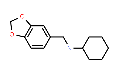 N-(1,3-benzodioxol-5-ylmethyl)cyclohexanamine