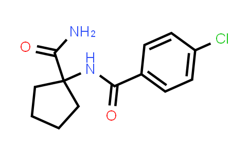 N-(1-Carbamoyl-cyclopentyl)-4-chloro-benzamide