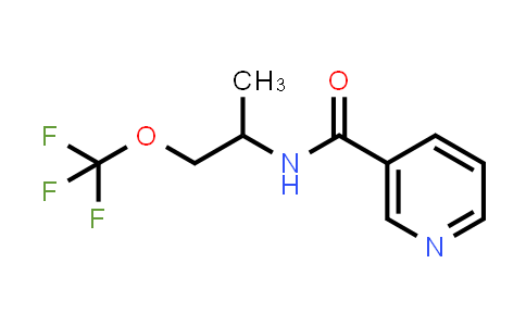 N-(1-Methyl-2-trifluoromethoxy-ethyl)-nicotinamide