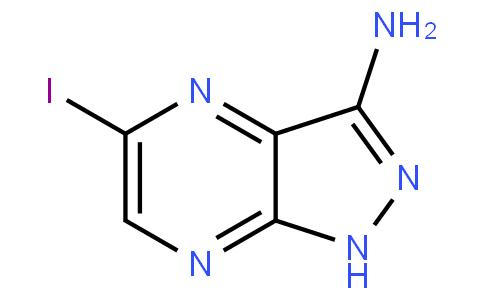 5-iodo-1H-pyrazolo[4,3-b]pyrazin-3-amine