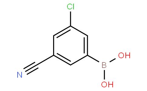 3-氯-5-氰基苯硼酸