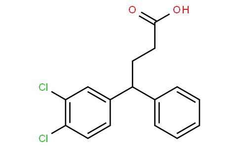 4-(3,4-dichlorophenyl)-4-phenylbutanoic acid