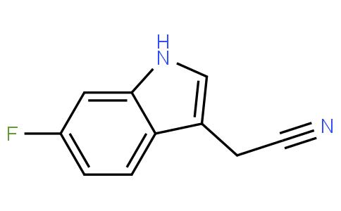 6-fluoroindole-3-acetonitrile