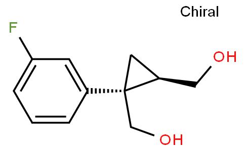 1,2-Cyclopropanedimethanol, 1-(3-fluorophenyl)-, (1S,2R)-
